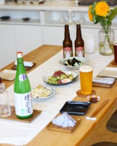 夏を感じるおもてなしのテーブルコーディネート