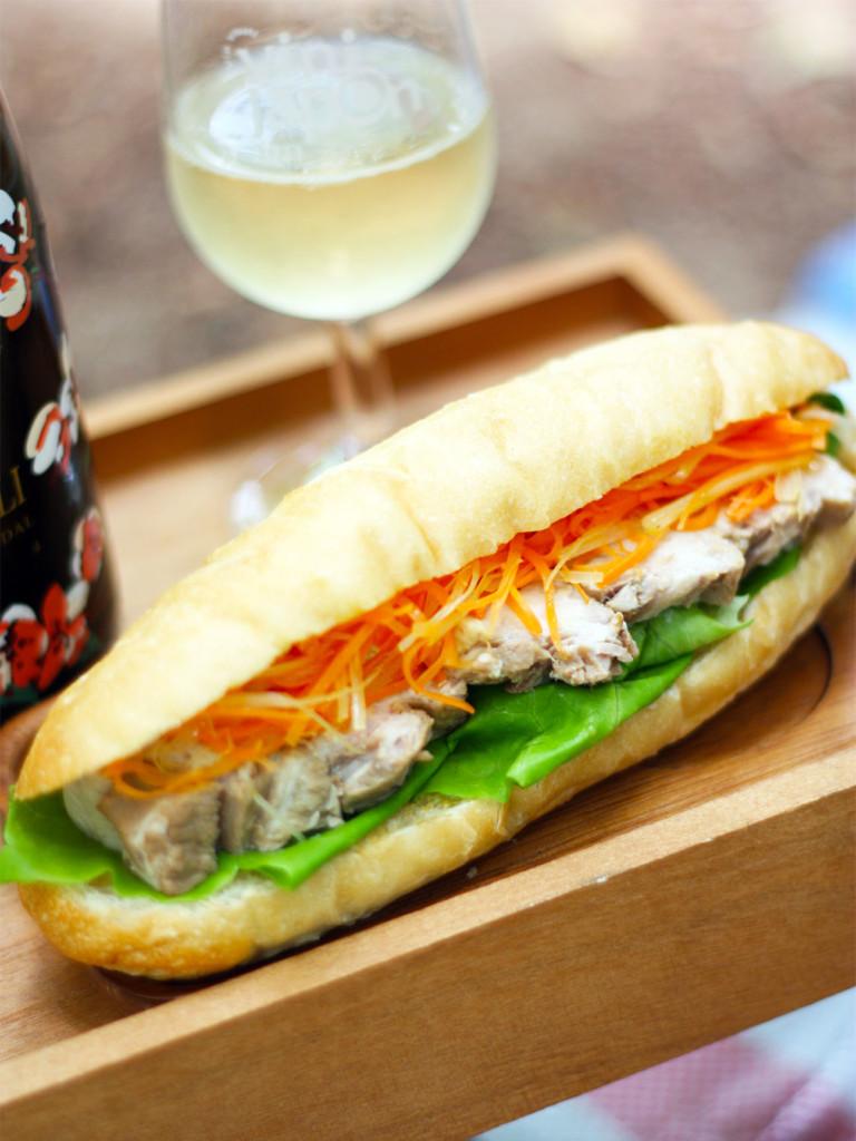 手づくりのベトナム風サンドイッチ、バインミー
