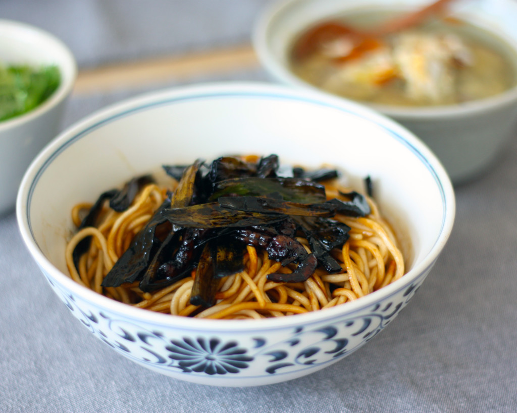 できたての上海名物・葱油拌麺
