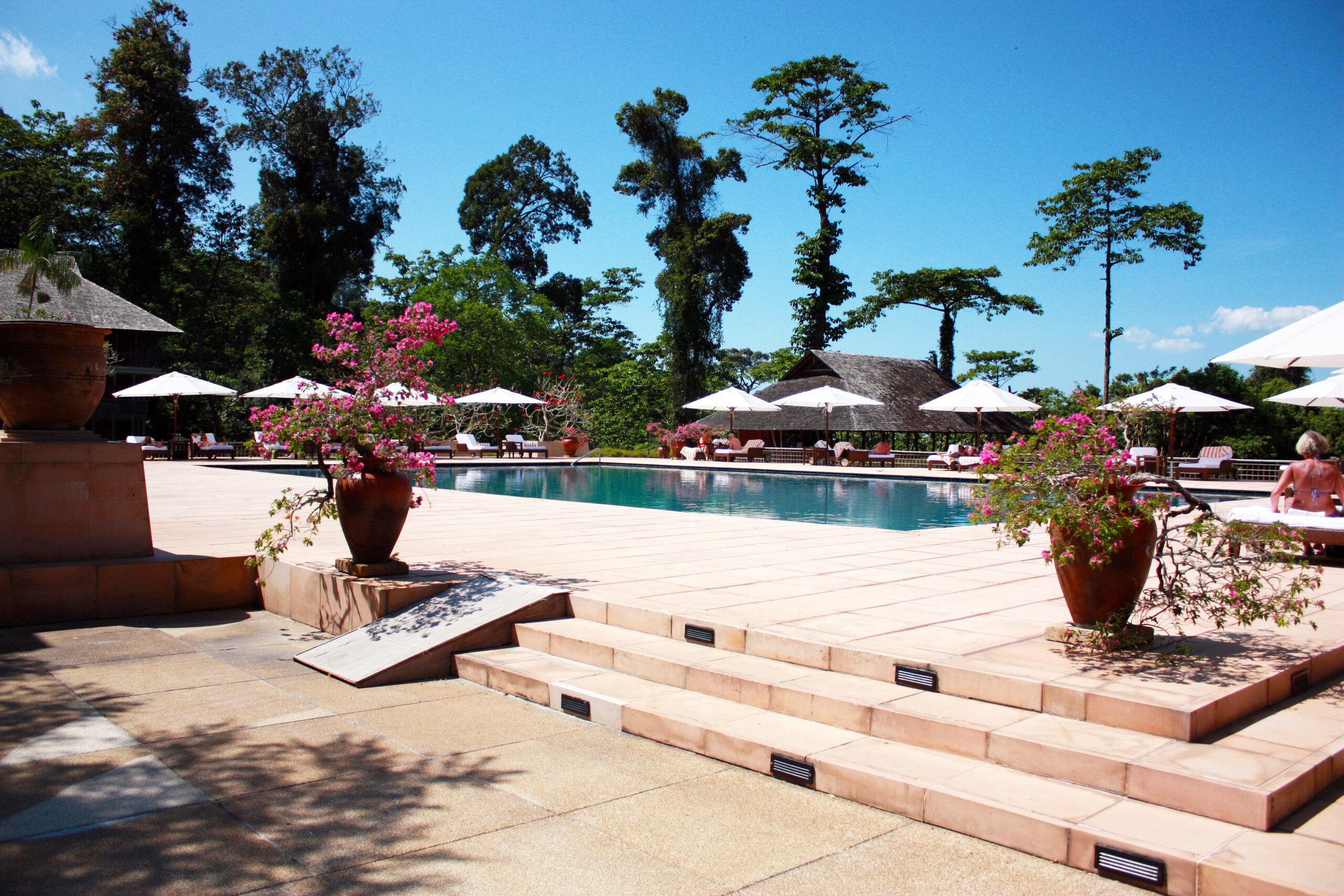 ランカウイのリゾートホテル、ザ・ダタイのプール