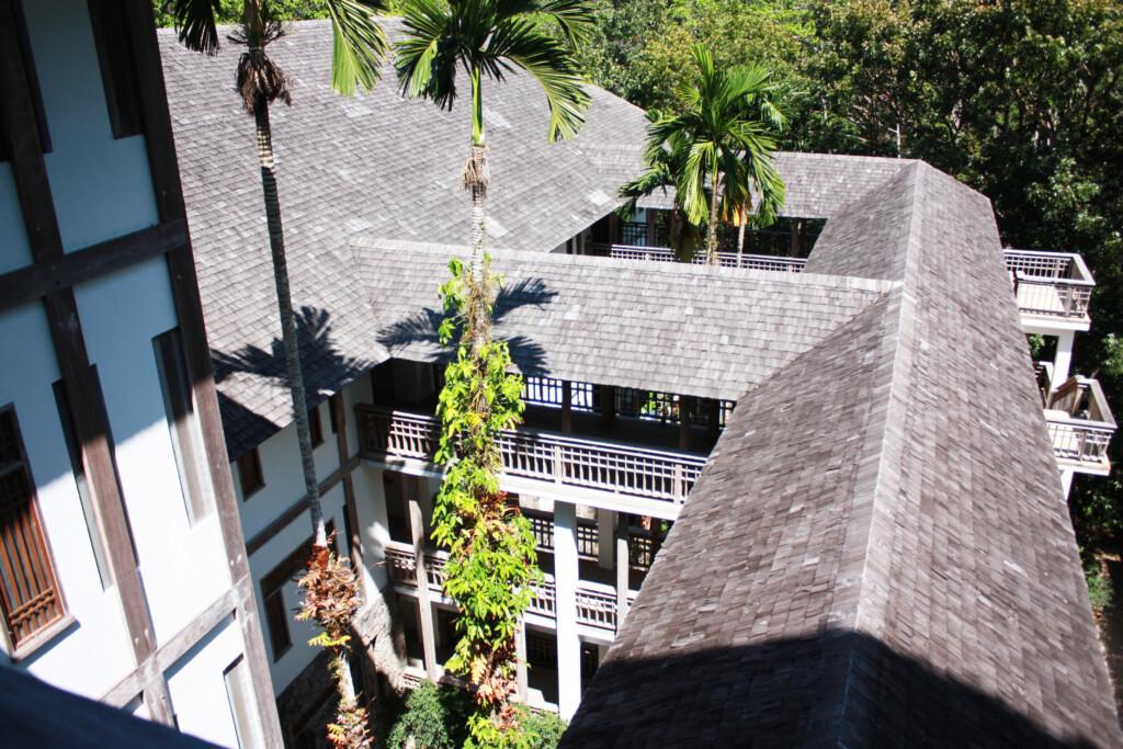 リゾートホテル、ザ・ダタイの建築