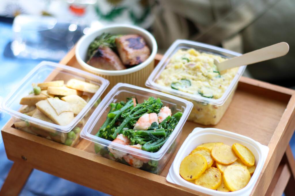 ピクニックランチの副菜