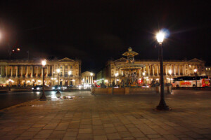 パリ・コンコルド広場の風景