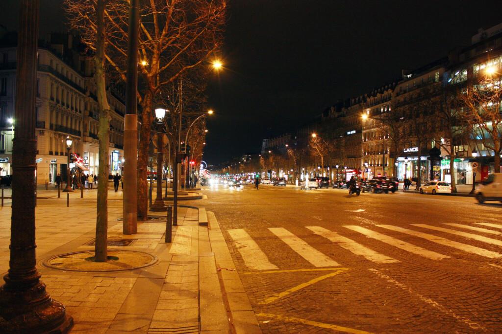 パリの夜の風景