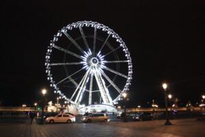 パリ・コンコルド広場の観覧車